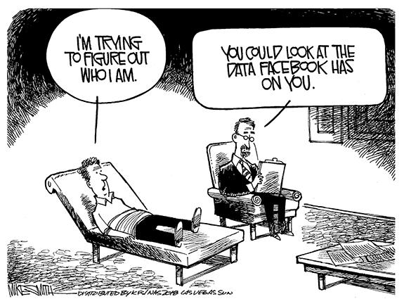 Editorial Cartoon: Who Am I?