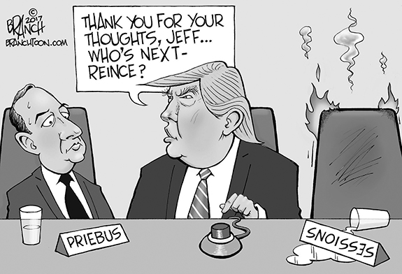 Editorial Cartoon: Who's Next?