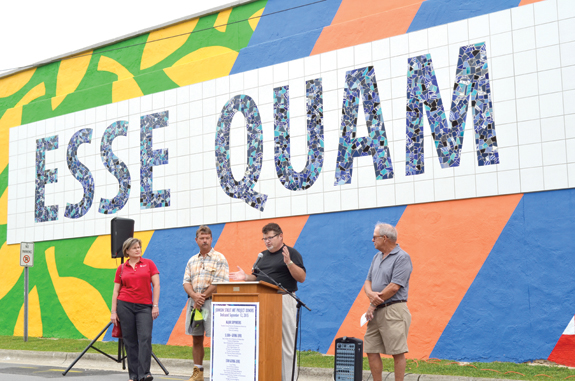 <i>Mural combines rich history, local talent</i>