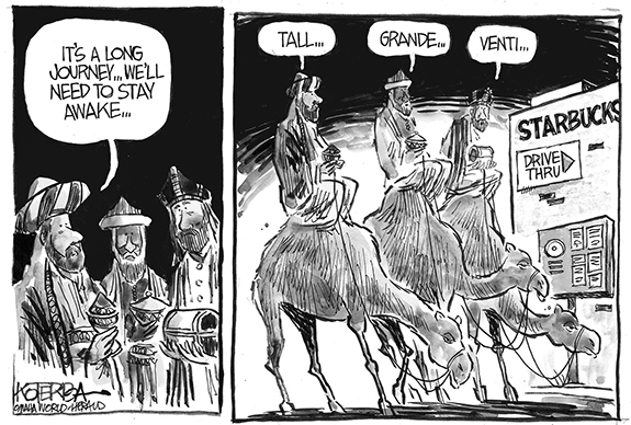 Editorial Cartoon: Wisemen